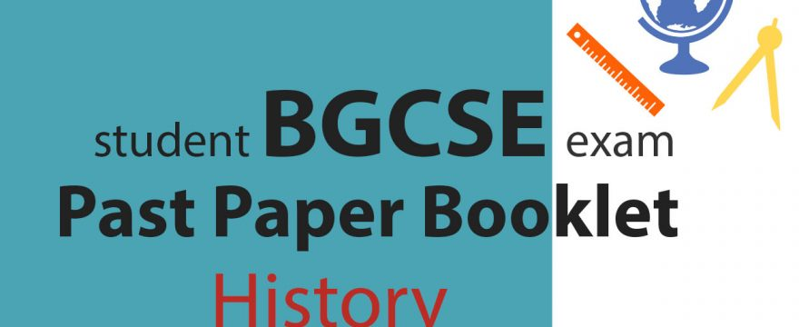 BGCSE History Past Papers