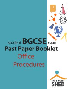 bgcse office procedures