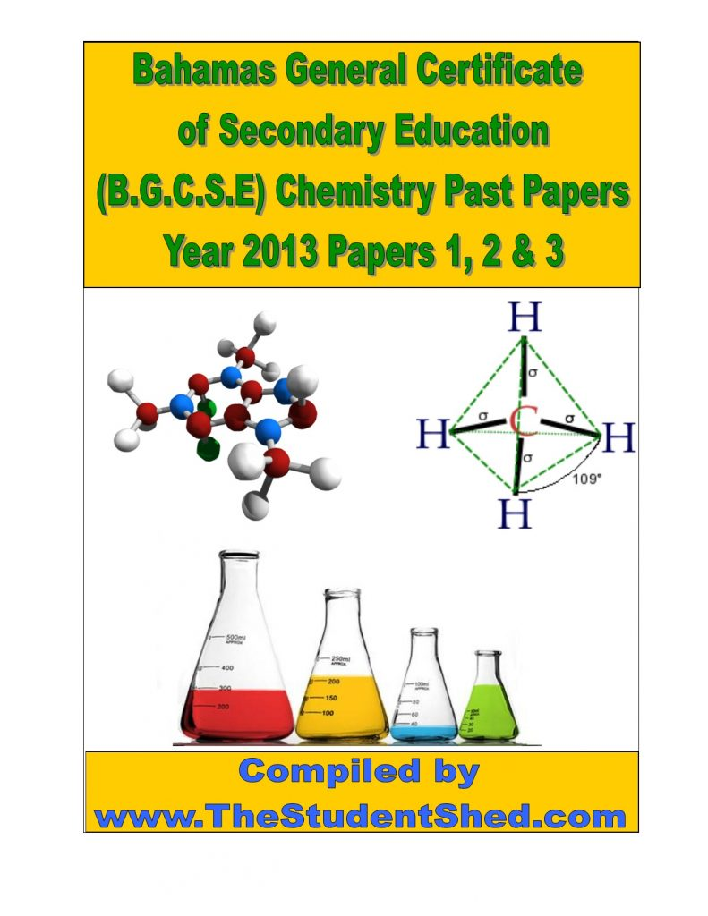 BGCSE Chemistry Past Papers