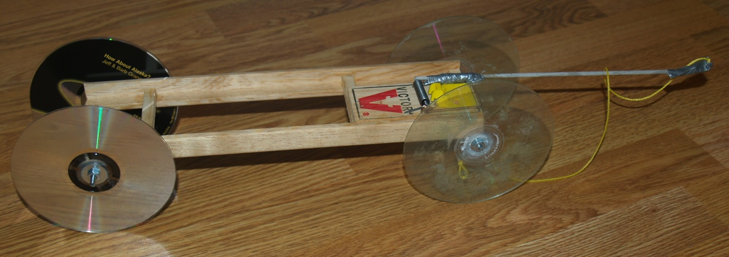 How To Make An Easy Mouse Trap Car Video