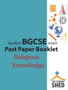 BGCSE religious knowledge rk
