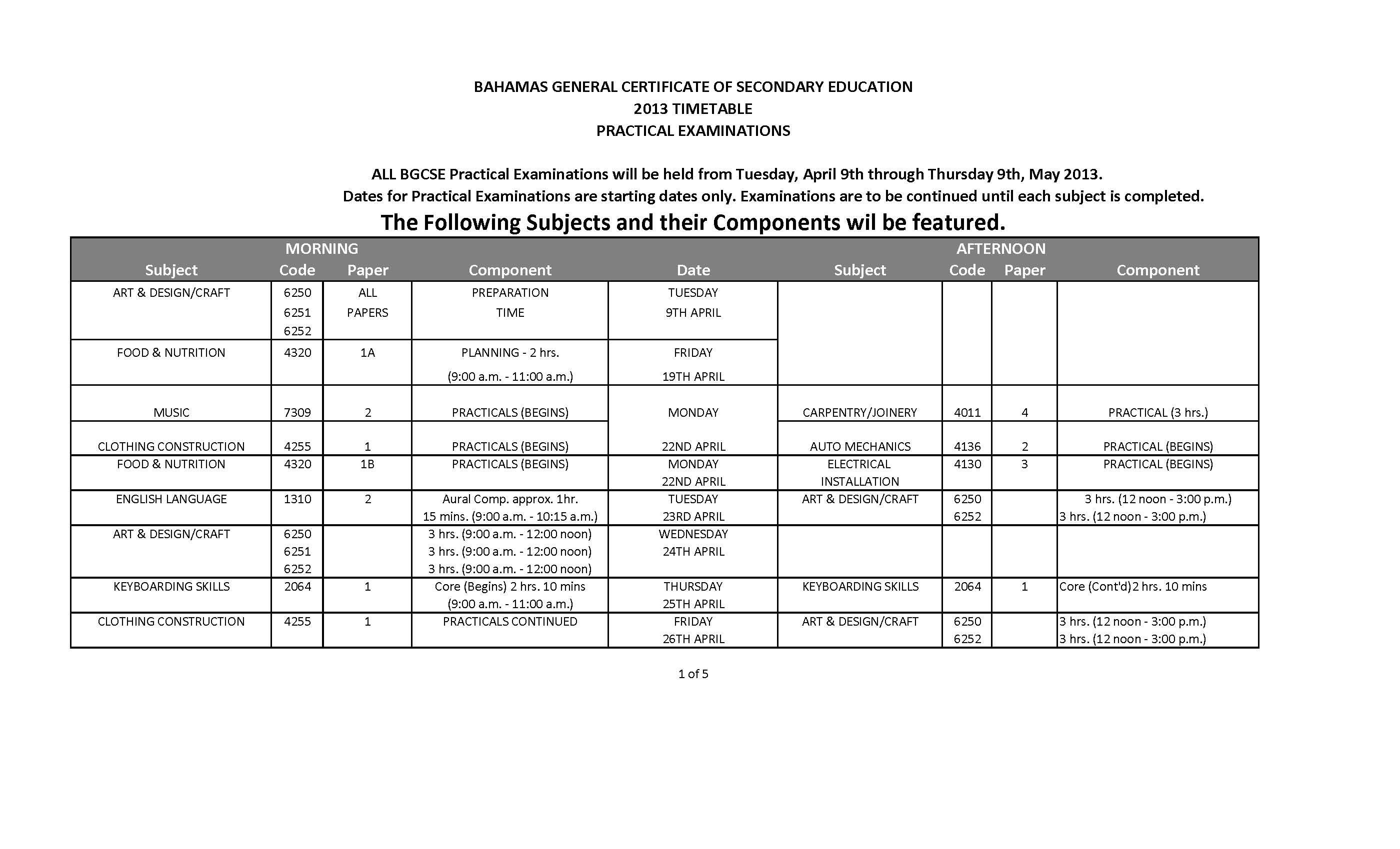 Bgcse Results 2009 Pdf