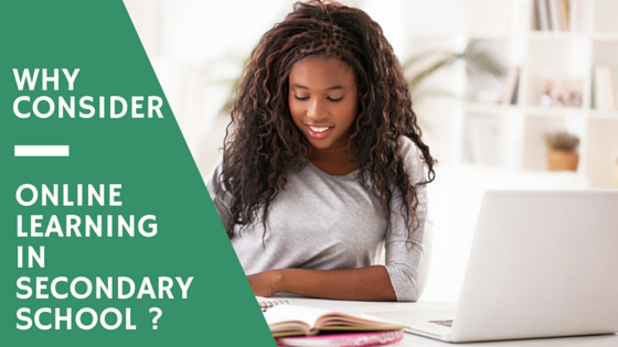 Why Consider Online Learning in Secondary School?
