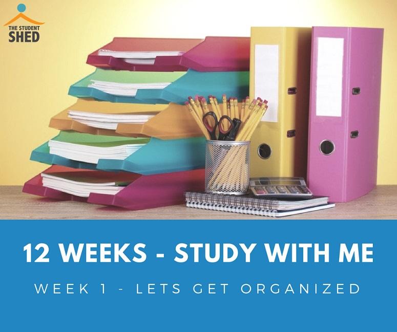 12 weeks study with me week