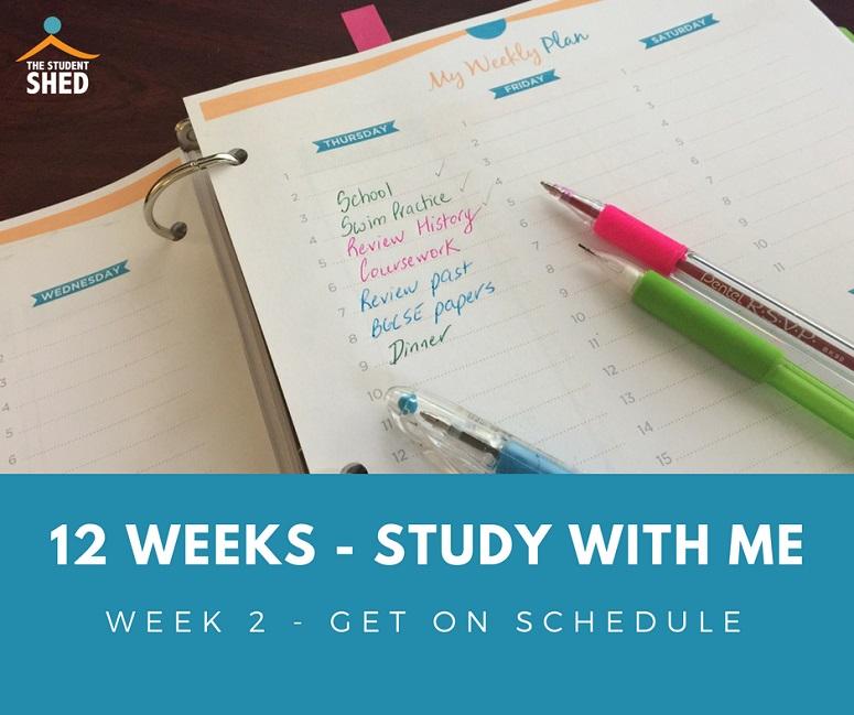 12 week study with me week 2