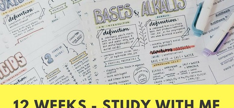 Let's Get Ready for Exams – Week 3