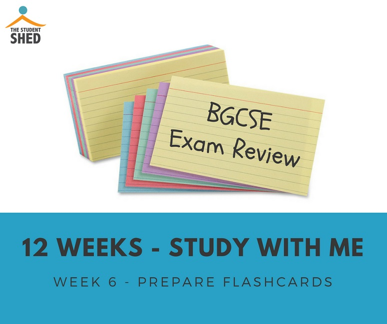 Lets get ready for exams - Week 6