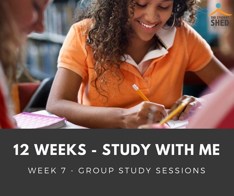 12 weeks study with me - week 7