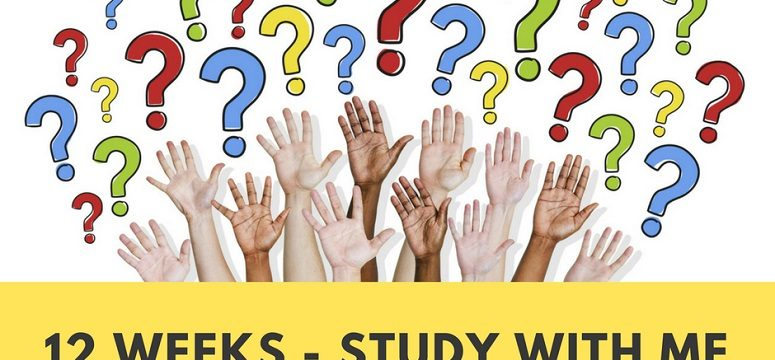 Let's Get Ready For Exams – Week 10