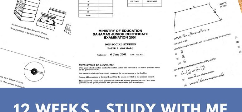 Let's Get Ready For Exams – Week 11