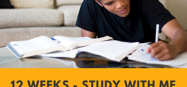 Let's Get Ready for Exams – Week 12