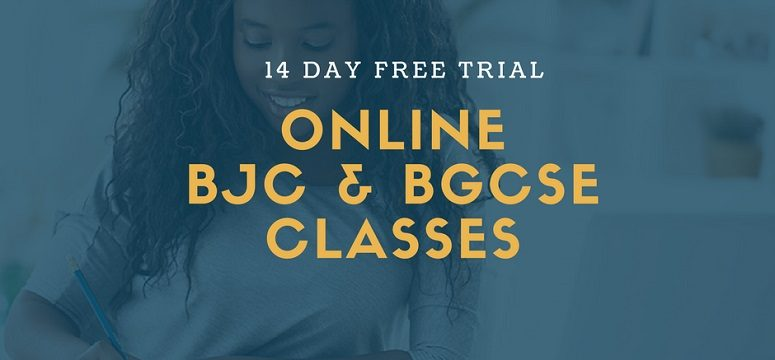 Free BJC & BGCSE Classes