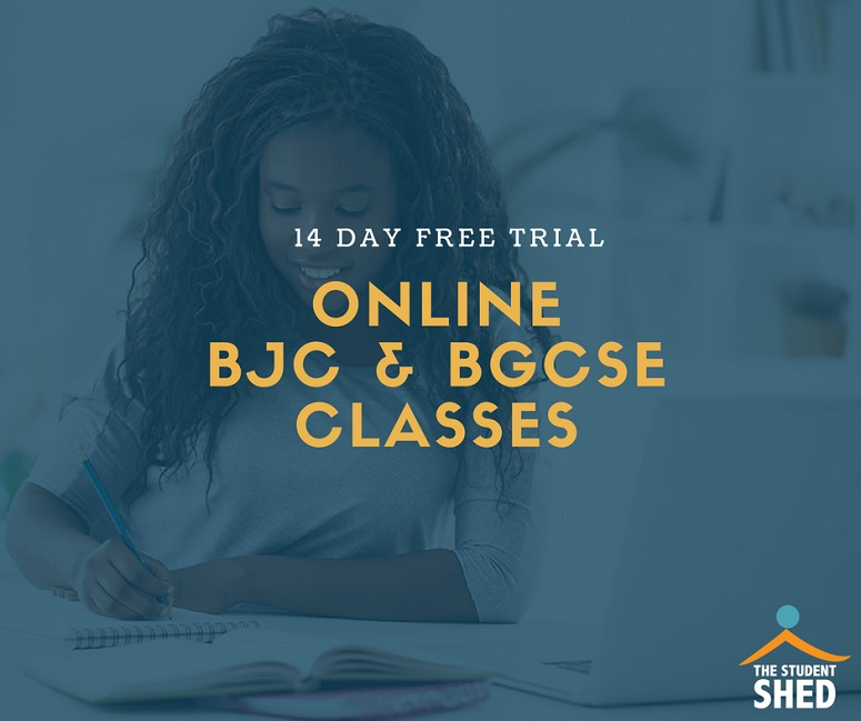 FREE TRIAL - BJC & BGCSE classes