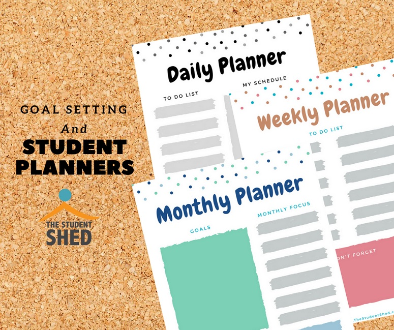 goal setting and student planners