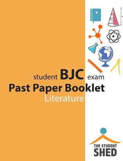 Free BJC Literature Past Paper