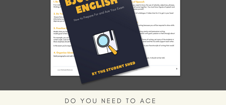 Get this Guide if You Need to Ace BJC & BGCSE English