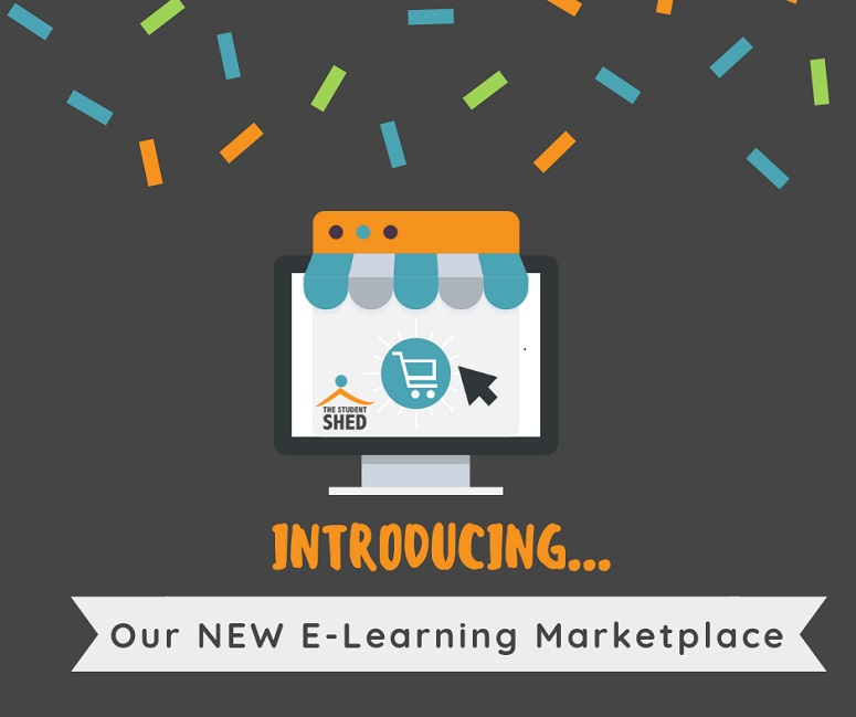 The NEW Student Shed E-Learning Marketplace