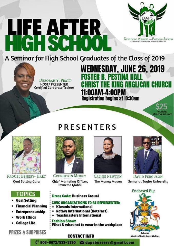 Life After High School Seminar