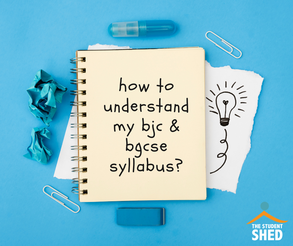 understanding the bjc & bgcse syllabus