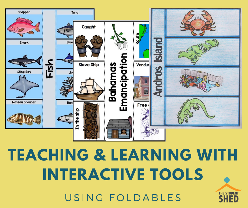 teaching and learning with interactive tools - using foldables