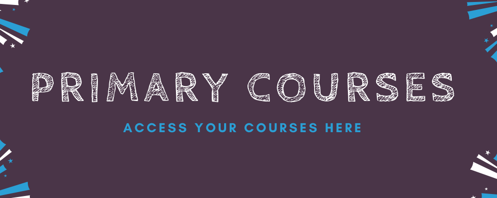 Access Your Primary Online Course